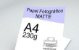 Papel Fotográfico Matte (Fosco) A4 230g - 20 Folhas - 1 Pacote - Imagem 1