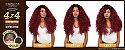 Sensationnel Swiss Silk Based 4x4 Kelly Lace Wig (COR: 1b) - Imagem 2