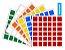 KIT ADESIVOS 6X6 68MM - Imagem 1