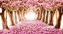 Painel de Festa 3d Cerejeiras Encantadas - Imagem 1