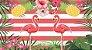 Painel para decoração de Festa Tropical Flamingo - Imagem 1