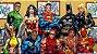Painel para decoração de festa infantil - Marvel Herois - Imagem 1
