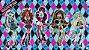 Painel para decoração de festa infantil - Monster High - Imagem 1