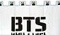 Cortina BTS  K-POP 1,5x2,0m - Imagem 2
