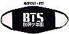Máscara K-pop BTS 01 - FRETE GRÁTIS - Imagem 1
