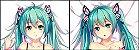 Capa de Travesseiro Vocaloid - Hatsune Miku - Imagem 1