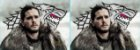 Capa de Travesseiro Game of Thrones Jon Snow        - Imagem 1
