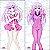 Capa de Dakimakura Médio Hyperdimension Netunia - Nepgear - Imagem 1