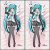 Capa de Dakimakura Médio Vocaloid - Miku - Imagem 1