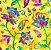 Tecido Impermeável  Estampado PUL - 782 - Imagem 1