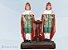 SAO COSME E DAMIAO - Manto Vermelho : 20CM - Imagem 1