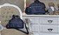 Kit de Bolsas Coroa Azul Marinho com Duas peças - Imagem 1