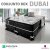 CONJUNTO BOX QUEEN DUBAI COM MASSAGEADOR 158 x 198 x 38 - Imagem 2