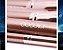 Kit 10 Pincéis Profissionais com Saco DOCOLOR  - Imagem 5