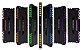 MEMORIA CORSAIR VENGEANCE RGB 16GB (2X8) 2666MHZ DDR4 - CMR16GX4M2A2666C16 - Imagem 1