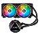 WATER COOLER XPG LEVANTE 240, 2X 120MM, RGB - LEVANTE240-BKCWW - Imagem 2