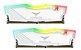 MEMÓRIA T-FORCE DELTA R 32GB (2X 16GB) DDR4 3600 RGB, BRANCA - TF4D432G3600HC18JDC01 - Imagem 1