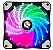 COOLER HAYOM LED RGB, P/ GABINETE,  12CM - FC1302 - Imagem 1