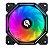 COOLER HAYOM LED RGB, P/ GABINETE,  12CM - FC1303 - Imagem 1