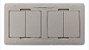Caixa De Tomada Para Mesa De Reunião Com HDMI, Carregador USB 2.1A - Imagem 2