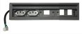 Caixa de Tomadas SLIM-200D + Posições para Keystones - Imagem 1