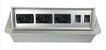 Caixa De Tomada SLIM-AW3T Com 3 Tomadas + Posições RJ45 - Imagem 2