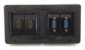 Caixa Painel Para Mesa Em ABS Com 2 HDMI, 2 VGA - QMF4-M15 - Imagem 1