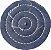 Roda de Brim Disco de Pano Para Polimento Tamanho 7,5 Cm - Imagem 1