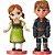 Miniaturas Anna e Kristoff (Frozen) - Oficial Disney - Imagem 1