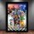 Poster com Moldura - Kingdom Hearts - Imagem 1