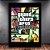 Poster com Moldura - GTA San Andreas - Imagem 1
