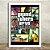 Poster com Moldura - GTA San Andreas - Imagem 2