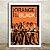 Poster com Moldura - Orange Black - Imagem 1