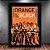 Poster com Moldura - Orange Black - Imagem 2