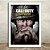 Poster com Moldura - Call Of Duty World War 2 - Imagem 2