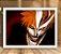 Poster com Moldura - Kurosaki Ichigo Hollow Mask - Imagem 1