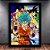 Poster com Moldura -  Goku Forms Dragon Ball Super - Imagem 1