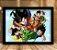 Poster com Moldura -  Dragon Ball Z - Imagem 1