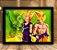 Poster com Moldura - Goku e Gohan x Perfect Cell - Imagem 1