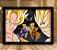 Poster com Moldura - Goku Vs Majin Vegeta - Imagem 1