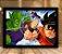 Poster com Moldura - Piccolo Vs Goku - Imagem 1