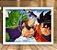 Poster com Moldura - Piccolo Vs Goku - Imagem 2