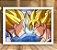 Poster com Moldura - Goku Vs Vegeta SSJ - Imagem 1