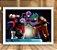 Poster com Moldura - Jiren Vs Goku SSJ Blue - Imagem 1