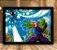 Poster com Moldura - Piccolo Vs Androide 17 - Imagem 1
