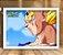 Poster com Moldura - Majin Vegeta Dragon Ball Kai - Imagem 1
