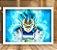 Poster com Moldura - Vegeta Super Sayajin Blue - Imagem 2