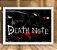Poster com Moldura - Death Note - Imagem 1