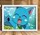 Poster com Moldura - Happy Fairy Tail - Imagem 1