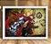 Poster com Moldura - Edward Elric Fullmetal Alchemist - Imagem 2